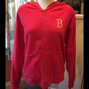 Tops - Boston Red Sox Jeweled Hoodie